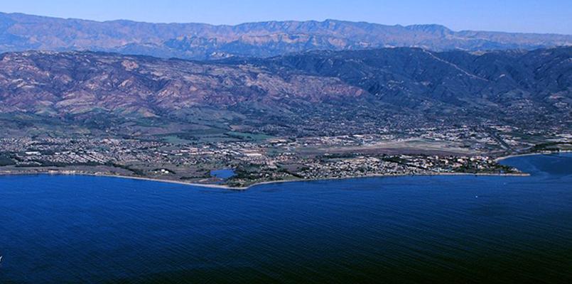 Goleta coastline